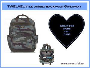 Parent Club – Win TWELVElittle unisex backpack