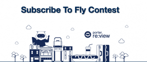 Porter Airlines – Win a trip for 2 to anywhere Porter flies valued at $2,500