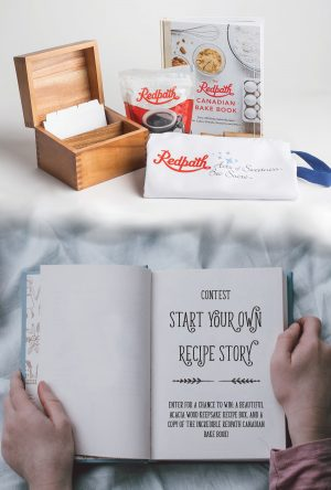 Redpath Sugar – Star Your Own Recipe Story – Win a grand prize package valued at $85.97