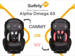 Safety 1st Canada – Win 1 of 3 New Safety 1st Alpha Omega 65 car seats