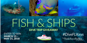 The Florida Keys & Key West – Fish & Ships – Win a dive trip prize package valued at $4,805