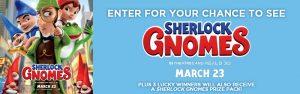 The Toronto Star Wonderlist – Win 1 of 60 double passes to see Sherlock Gnomes