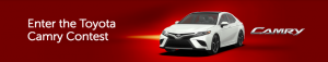 Toyota Canada – Win an all-new Camry XSE V6