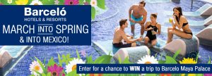 Travel Superstore – Win a trip & a 7-night stay at the Barcelo Maya Palace