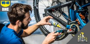 WD-40 Company – Win a Squid Shred to Ed's bicycle, one of each WD-40 Bike products & WD-40 EZ-Reach