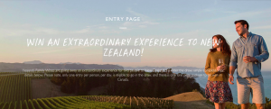 Yealands Family Wines – Win a trip for 2 to New Zealand valued at $8,000 CAD