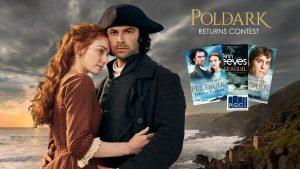 ZoomerTV – Poldark Returns – Win 1 of 4 book packages