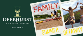 400Eleven – Win a Family Summer Getaway to Deerhurst
