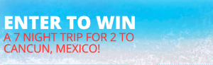 Air Canada Vacations and Moxie's Grill & Bar – Win an all-inclusive trip for 2 to Cancun, Mexico valued at up to $7,500