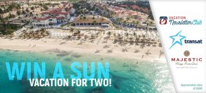 Aquarelle Travel – Win an all-inclusive sun vacation for 2 valued at $3,000