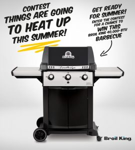 EconoMax – a Broil King 40,000-BTU barbecue valued at $559
