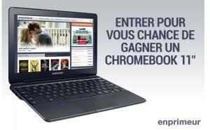 En Premeur – Win a Chromebook 11″ valued at $300 CDN