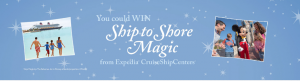 Expedia Cruise Ship Centers – Win a vacation for 4 on a Disney Cruise Line ship