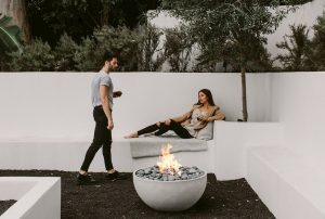 Hauser – Win a 32″ Rd. x 15.5″H Light Concrete Firebowl