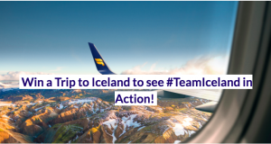 Iceland Naturally – Win a trip for 2 to Iceland to watch Iceland Men's Soccer Team Take on Norway valued at $3,500