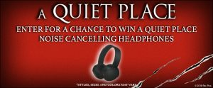 Landmark Cinemas – Win A Quiet Place prize pack valued at $250