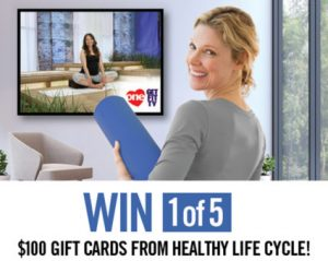 One TV – Spring Forward with One – Win 1 of 5 gift cards from Healthy Life Cycle valued at $100 each