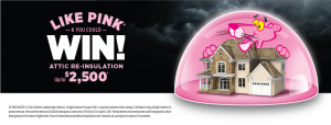 Owens Corning Canada – Atticat Like Pink & You Could Win – Win 1 of 2 prizes
