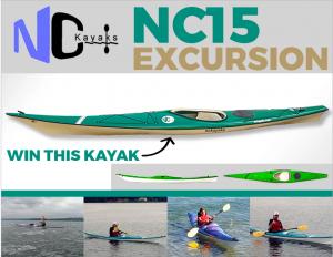 Paddling – Win a NC Kayaks NC15 Excursion valued at $2,999