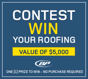 RONA – Win your Roofing – Win a $5,000 credit for roofing services