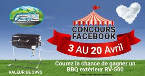 Roulottes Gauthier – Win an outdoor BBQ valued at $299