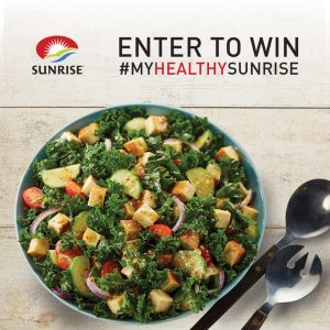 Sunrise Soya Foods – #MyHealthySunrise Recipe Creation – Win a grand prize of a DSLR camera OR 1 of 2 Apple iPads