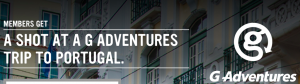Virgin Mobile Canada – G Adventures Portugal Flyaway – Win a trip for 2 to Portugal valued at $5,000 CAD