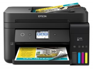Whats Your Tech – Win the Epson Workforce ET-4750 EcoTank All-in-One Supertank Printer valued at $599