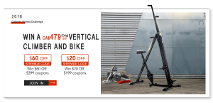 aosom.ca – MH Canada – Win a 2-in-1 Vertical Climber and Bike valued at $479