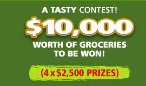 Boulangerie St-Methode – A Tasty Contest – Win 1 of 4 grand prizes of a $2,500 CAD each to be used for purchasing grocery products