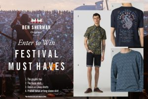Exclaim – Ben Sherman – Win a prize pack of summer music festival essentials from Ben Sherman valued at $400