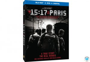 Ideon Media – AmongMen – Win 1 of 10 copies of The 15:17 to Paris on Blu-ray