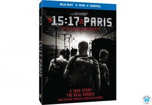 Ideon Media – AmongMen – Win 1 of 10 copies of The 15:17 to Paris on Blu-ray