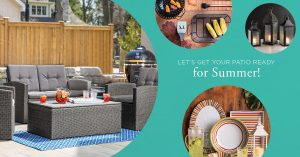 Kitchen Stuff Plus – Summer Patio Giveaway – Win a grand prize of a Complete Patio Dining Kit valued at $1,155 OR 1 of 2 minor prizes