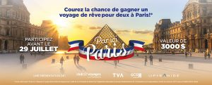 La Pyramide de Ste-Foy & Club Voyages la Forfaiterie – Win a trip for 2 valued at $3,000