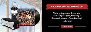 MusicVaultz and Universal Music Canada – Long Weekend – Win a grand prize package valued at $120CDN