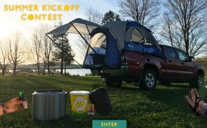 Napier – Summer Kickoff – Win a grand prize package OR 1 of 2 minor prizes