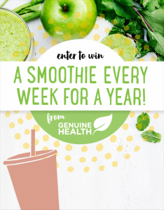 Nature's Fare Markets – Win one smoothie a Week for a Year valued at $350