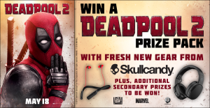 Postmedia Network – Deadpool 2 – Win a grand prize package valued at $600 OR many other minor prizes