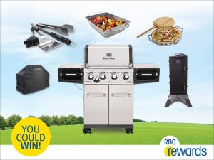 Royal Bank of Canada – RBC Rewards Summer BBQ – Win a Broil King Regal S440 BBQ and Accessory Set (total value of $2,500)