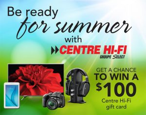 TC Media – Win a Centre Hi-Fi gift card valued at $100