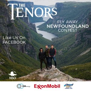 The Tenors – Win 2 VIP Tickets to The Tenors Live at the Mile One Centre in St. John's, Newfoundland (flight and accommodation included) valued at $3,600 CDN