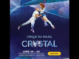 ZoomerMedia – Win tickets for 2 to see Cirque du Soleil Crystal at Hamilton's First Ontario Centre valued at $200