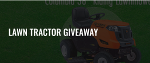 BRS Battery LTD – Win a brand new 38″ Columbia Riding Lawn Tractor