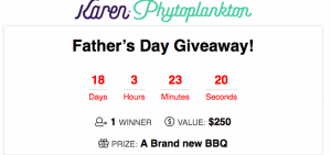 Blugenics Innovations – Father's Day – Win a BBQ prize package for your dad valued at $250