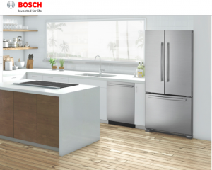 Bosch Home Appliances – Ready Set Summer – Win 1 of 3 24″ Bar Handle Dishwashers Benchmark Series valued at $3,219 each