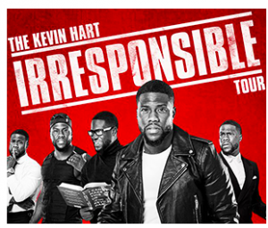 Capital Sports Properties – Win 2 tickets to see Kevin Hart at Canadian Tire Centre valued at $179
