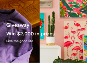 Frank and Oak – Live the Good Life – Win 3 gift cards valued at total of $2,000 CAD