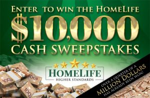 HomeLife Realty Services – Win a cheque of $10,000 CDN