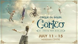 Metroland Media Group – Cirque de Soleil – Corteo – Win 1 of 2 prizes of 4 tickets to Cirque de Soliel-Corteo live valued at $360 each
